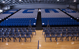 Central Coast Adventist School: Retractable Seating