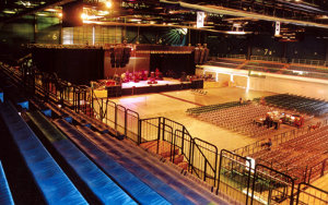Queens Wharf Events Centre NZ: Retractable Seating