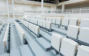 Skode Museum, Prague: Multi Purpose & Gymnasium Seating