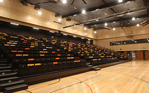 Waverley Christian College: Multi Purpose & Gymnasium Seating