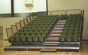 Queenstown Events Centre, NZ : Retractable Seating