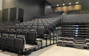 Logan Entertainment Centre, QLD - 356 Retractable Penumbra Seats Installed 2020